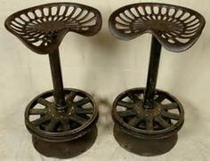 tractor seat bar stools - Yahoo Image Search Results