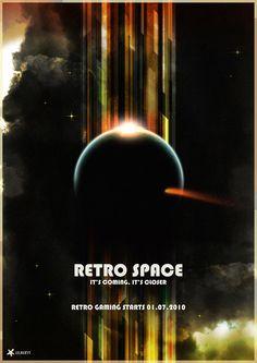 Retro Space: Retro Futurism in Poster Design   The Inspiration Blog