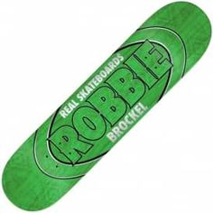 "Real Skateboards Brockel Pro Oval LTD Full Skateboard Deck 8.25"""
