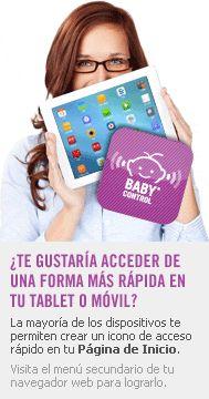 Baby Control ·· Área Privada