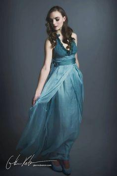 Silk & Wool Nuno Felted Dress, No Sewing