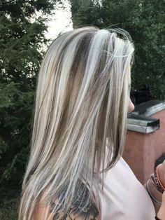 Ice blonde - All For Hair Cutes Ice Blonde Hair, Platinum Blonde Hair, Icy Blonde, Light Blond, Light Hair, Gray Hair Highlights, Hair Color Balayage, Haircolor, Low Lights Hair