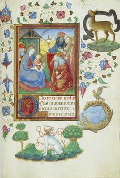 Magi: Adoration, full view | Book of Hours | Italy, probably Milan | ca. 1470 | The Morgan Library & Museum