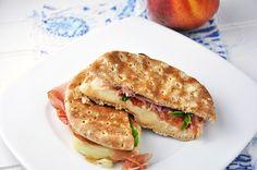 Prosciutto and Caprese Panini Sandwich Recipe