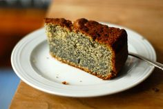 Deborah Madison's Poppy Seed Cake