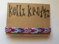 Diamond Head Arrow Chevron Aztec Friendship by KellzKraftzCo