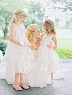 Flower girl: http://www.stylemepretty.com/2015/04/14/elegant-black-tie-wedding-in-washington-d-c/   Photography: Josh Gooden - http://www.joshgooden.com/