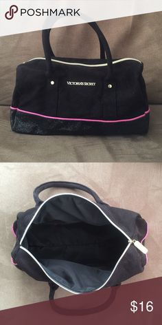 Victoria's Make-Up Bag Large Victoria's Secret handle make-up bag. Never used. New, without tags. Victoria's Secret Bags Cosmetic Bags & Cases