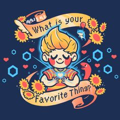 what is your favorite thing? By cuhelski