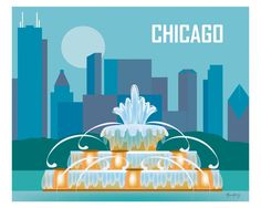 Chicago, Illinois - Buckingham Fountain