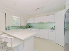kitchen glass splashbacks - Google Search