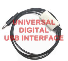 Universal RX Digital mode Interface For ALL Radio, Transceivers, Scanners, receivers, capable receiving ssb-digimode signals PSK31, PSK, RTTY, SSTV, NBEMS, JT-65, WeatherFax and other digital modes, CW Morse HF/VHF/UHF With this interface you can receive (not transmit) and decode almost any digital mode and CW Morse. Works with ANY Radio, Transceiver, Scanner, Receiver (Yaesu, Kenwood, Icom, Alinco, Motorola, Uniden, Realistic, etc) with plug for external speaker or headphones.
