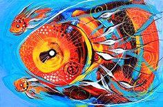 J. Vincent Scarpace. Original Painting.  For sale (artist@ipaintfish.com).  Visit: www.ipaintfish.com
