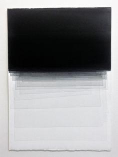 Joachim Bandau Untitled, 20.6.2014 • water colour on Fabriano Artistico, 76 × 56 cm