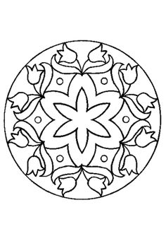 Native American Mandala Coloring Page Native American