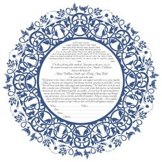 Ketubah Art Print  (Dodi Love) personalization available (other colors available) by KetubahLA on Etsy