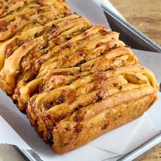 Queso Blanco Pull-Apart Bread | Baking and Cooking Blog - Evil Shenanigans