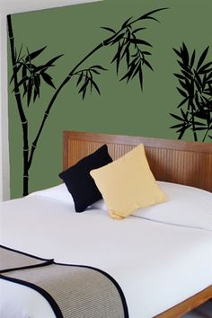 Wall Decals Bamboo 4- WALLTAT.com Art Without Boundaries