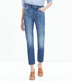 Madewell Cruiser Straight Crop Jeans