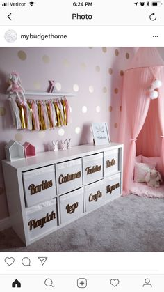 27 Pretty Kids Room Ideas That Are Beyond Chic You are in the right place about pretty girl swag Here we offer you the most beautiful pictures about the pretty girls with braces you are looking for. When you examine the 27 Pretty Kids Room[. Daughters Room, Toy Rooms, Kids Room Design, Kids Bedroom Designs, Playroom Design, Nursery Design, Baby Design, Little Girl Rooms, Little Girl Closet