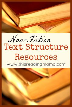 Non-Fiction Text Structure: Problem/Solution and Compare/Contrast Resources ~ Includes a FREE Non-Fiction Graphic Organizer Pack for Problem/Solution and Cause/Effect Text Structures! | This Reading Mama