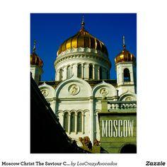 Moscow Christ The Saviour Church City Architecture Postcard City Architecture, Moscow, Taj Mahal, Christ, To Go, Travel, Viajes, Trips, Tourism