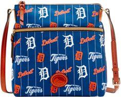 Dooney & Bourke MLB Tigers Crossbody Shoulder Bag