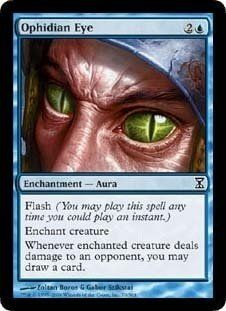 Ophidian Eye (Magic the Gathering : Time Spiral no.70 Common) -- Special offer just for you. See it now! : FREE Toys and Games