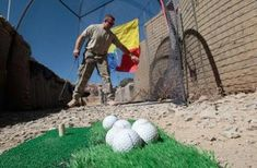 Build your own golf net so you can practice full swings at your own home.