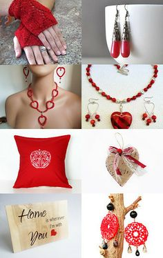 Red Passion by TayaToy on Etsy--Pinned with TreasuryPin.com Assessment, Small Businesses, Crochet Necklace, Passion, Jewels, Boutique, Group, Store, Amazing