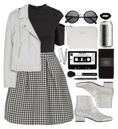 """70's"" by brigitta-bodoki ❤ liked on Polyvore featuring H&M, Topshop, Joie, Yves Saint Laurent, Zara, Acne Studios, NARS Cosmetics and Chanel"