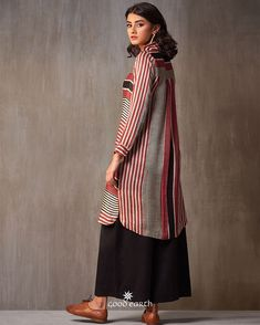 Trendy Plus Size Clothing, Plus Size Outfits, Classy Outfits, Trendy Outfits, Kurti Patterns, Casual Hijab Outfit, Striped Shirt Dress, Different Dresses, Pakistani Outfits