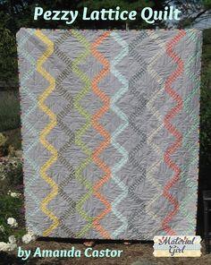 Moda Bake Shop: Pezzy Lattice Quilt boys twin quilt (free pattern)