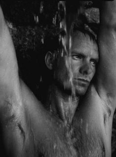 Sting by Fabrizio Ferri. Such a sexy man, there is something utterly intimate and intoxicating about this man!!!