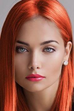 Beautiful Eyes, Most Beautiful Faces, Beautiful Redhead, Beautiful People, Beautiful Red Hair, Sheer Beauty, Pure Beauty, Woman Face, Messy Short Hair