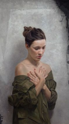 BP Portrait Award Third Prize winner (2014) - David Jon Kassan (American: 1977) - Jenn (Detail)