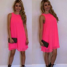 Sexy Womens Summer Casual Sleeveless Party Evening Beach Dress Short Mini Dress #Unbranded #Sexy #Casual