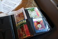 Turn an old CD folder into a Seed Packet Organizer!