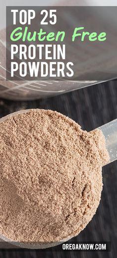 Top 25 Gluten Free Protein Powders of 2014 Protein Powder Reviews, Best Protein Powder, Gluten Free Protein Powder, Stay Fit, Glutenfree, Dairy Free, Health Fitness, Diet, Top