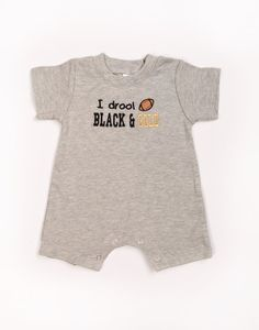 Football UCF Knights, Saints, Steelers, Purdue  Baby Boys Team Romper on Etsy, $21.00