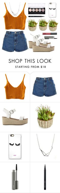 """""""Untitled #74"""" by lidiaaa18 ❤ liked on Polyvore featuring Topshop, Steve Madden, Allstate Floral, Rianna Phillips, MAC Cosmetics, Bobbi Brown Cosmetics and L.A. Colors"""