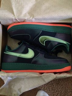 Air Force 1's! Had to get this crazy colorway!