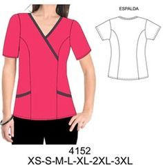 Delcomida CO antales Corporate Uniforms, Staff Uniforms, Medical Uniforms, Scrubs Pattern, Scrubs Uniform, Medical Scrubs, Dress Sewing Patterns, Fashion Outfits, Womens Fashion