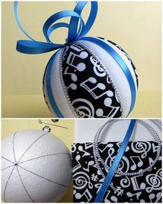 Рождественский орнамент Kit - Музыка Kimekomi по OrnamentDesigns на Etsy