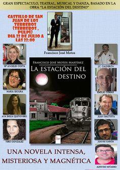 """Representación teatral y musical basada en la novela """"La estación de destino"""" (Castillo de Terreros)   Agenda de Lorca"""