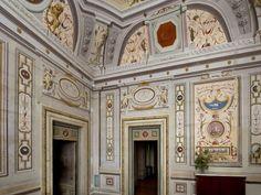 Museo di Casa Martelli - Firenze - Sala Pucci  - è un ambiente con una pregevole decorazione a grottesche in stile pompeiano