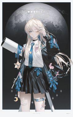 Anime Oc, Anime Neko, Manga Anime Girl, Anime Girl Drawings, Anime Artwork, Kawaii Anime Girl, Anime Girls, Manga Art, Anime Angel Girl