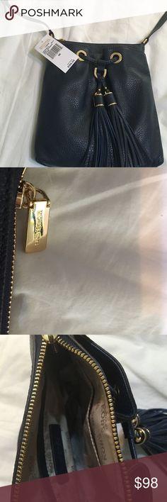 New Michael Kors crossbody never used! Navy Blue Michael Kors  cross body never used Michael Kors Bags Crossbody Bags