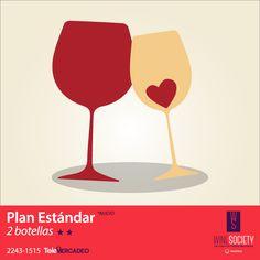 El vino se comparte mejor en pareja. #WineSociety #WineLovers #Perfect #Vinoteca #Wine #Guatemala #Flights #Couple