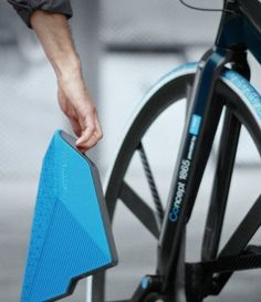 Check this out on leManoosh.com: #Bicycle #Blue #Handle #Origami #Pattern #Saddle #Triangle